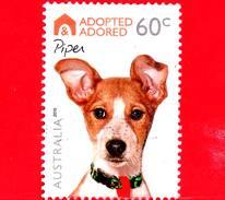 AUSTRALIA - Usato - 2010 - Cani - Adottato Ed Adorato - Piper - 60 - 2010-... Elizabeth II