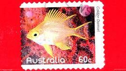 AUSTRALIA - Usato - 2010 - Pesci Della Barriera Corallina - Golden Damselfish (Amblyglyphidodon Aureus) - 60 - 2010-... Elizabeth II