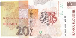 SLOVENIA  20 TOLARJEV    1992   FDS - Slovenia