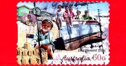 AUSTRALIA - Usato - 2010 - Weekend Lungo, Anni '50 - Autoadesivo - 60 - 2010-... Elizabeth II