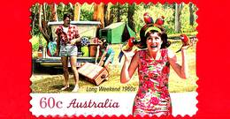 AUSTRALIA - Usato - 2010 - Weekend Lungo, Anni '60 - Vacanze - Autoadesivo - 60 - 2010-... Elizabeth II