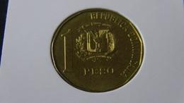 Dominican Republic - 1992 - 1 New Peso - KM 80.2 - VF - Look Scan - Dominikanische Rep.