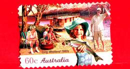 AUSTRALIA - Usato - 2010 - Weekend Lungo, Anni '80 - Vacanze - Autoadesivo - 60 - 2010-... Elizabeth II