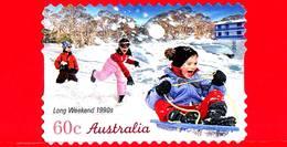 AUSTRALIA - Usato - 2010 - Weekend Lungo, Anni '90 - Vacanze - Autoadesivo - 60 - 2010-... Elizabeth II