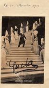 Autographe + Photo Goerge Guetary 1952 - Autographs