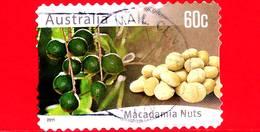 AUSTRALIA - Usato - 2011 - Agricoltura Australiana - Noci - Macadamia Nuts - 60 - 2010-... Elizabeth II