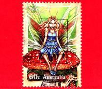 AUSTRALIA - Usato - 2011 - Mese Della Filatelia - Fata - Fairy - 60 - 2010-... Elizabeth II