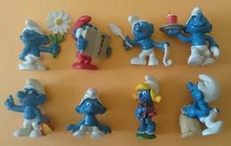 SCHTROUMPF LOT DE 8 FIGURINES - Miniature