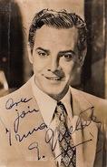 Carte Autographe Georges Guetary 1952 - Autographs