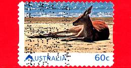 AUSTRALIA - Usato - 2011 - Vivere In Australia - Canguro - Red Kangaroo (Macropus Rufus) - 60 - 2010-... Elizabeth II