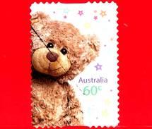 AUSTRALIA - Usato - 2012 - Momenti Preziosi - Teddy Bear (Orsacchiotto) - 60 - 2010-... Elizabeth II