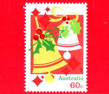 AUSTRALIA - Usato - 2012 - Natale - Christmas - Campane - Bells - 60 - 2010-... Elizabeth II