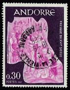 ANDORRE -  Timbre ʘ, Oblitéré N° YT 185