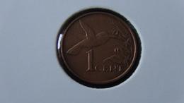 Trinidad And Tobago - 1996 - 1 Cent - KM 29 - XF - Look Scans - Trinidad & Tobago