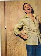 Autographe Sur Poster D'Eddie Canstantine - Autographs