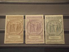 ITALIA - 1923 STATUA/CAMICIE NERE 3 - NUOVI+) - 1900-44 Victor Emmanuel III