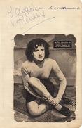 Autographe Jacquelines Pierreux - Autographs