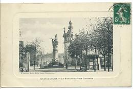 CHATEAUROUX - Le Monument Place Gambetta - Chateauroux
