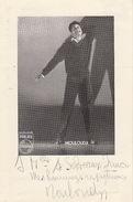 Autographe De Mouloudji 1953 - Autografi