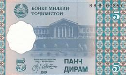 TAGIKISTAN  5 DIRAMS   1999   FDS - Tagikistan