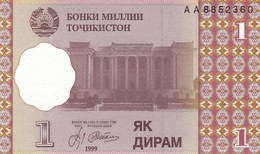 TAGIKISTAN  1 DIRAM   1999   FDS - Tajikistan
