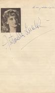 Autographe Antonella Lualoz ? - Autographs