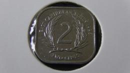 East Carribean States - 1996 - 2 Cents - KM 11 - XF - Look Scans - Ostkaribischer Staaten