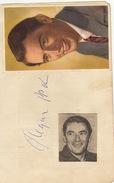 Autographe De Gregory Peck - Autographs