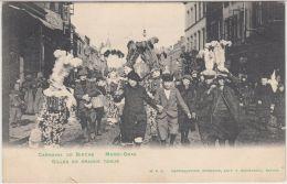 28226g   GILLES EN GRANDE TENUE - MARDI GRAS - CARNAVAL DE BINCHE - 1908 - Binche
