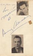 Autographe D'andré Claveau - Autographs