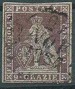 Toscana, 1851/2 Usato - Certifcato Terrachini