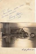 Autographe De Vonny Claire - Autographs