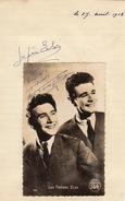 Autographe Des Frères Eloi - Autographs