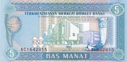 TURKMENISTAN  5 MANAT   1993   FDS - Turkmenistan