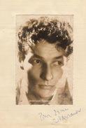 Autographe De Jean Louis Barrault - Autographs