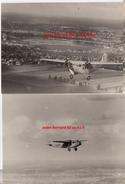 2 Photos  Originales Aviation Avion Pilote  Bernard Années 1920 - 30 - Aviazione