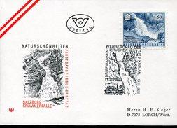 17716 Austria, Fdc 1988 Salzburg Krimmerfalle,   Cascade, Wasserfalle, Waterfall - Atomo