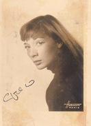 Autographe De Juliette Gréco - Autographes
