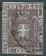 Toscana, Goveno Provvisorio, Emmissione In Centesismi E Lire, Sassone 17