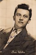 Autographe De Jean Walter - Autographs