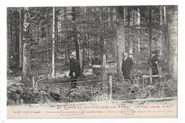 SAINT-DIE  (cpa 88)   Tombes De Chasseurs Alpins Tombés Près Du Hameau De Dijon 27 AOUT 1914  -    - L 1 - Saint Die