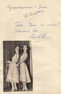 Autographe Des Nicolettes Nicolette - Autographs