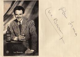 Autographe De Luc Barney - Autographs