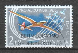 Switzerland 1963 Mi 780 Canceled AIRPLANE (1)