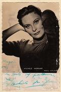 Autographe De Michele Morgan - Autographs