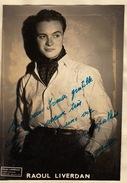 Autographe De Raoul Liverdan - Autographs