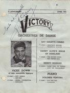Autographe De Vicky Down - Autographes
