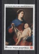 Sovrano Militare Ordine Di Malta ( SMOM ) Art Paintings Pittura Malerei 1996 1v MNH - Altri