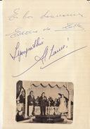 Autographe D'Eddie Latte Et ... - Autographs
