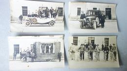 PINEY(10)   - Lot 4 Cartes Photos Origines à Confirmer - Cavalcade - Autres Communes